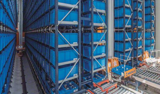 货箱自动化仓储